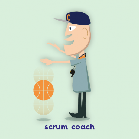 Scrum coach