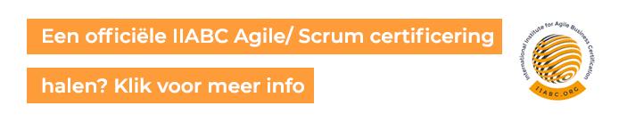 Agile Scrum Certificering bij iiabc