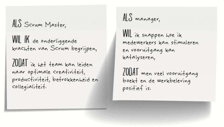 Progressieprincipe gebruik model