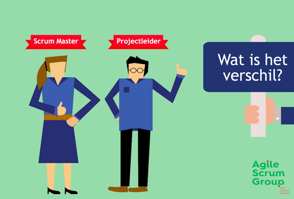 Projectleider en een Scrum Master