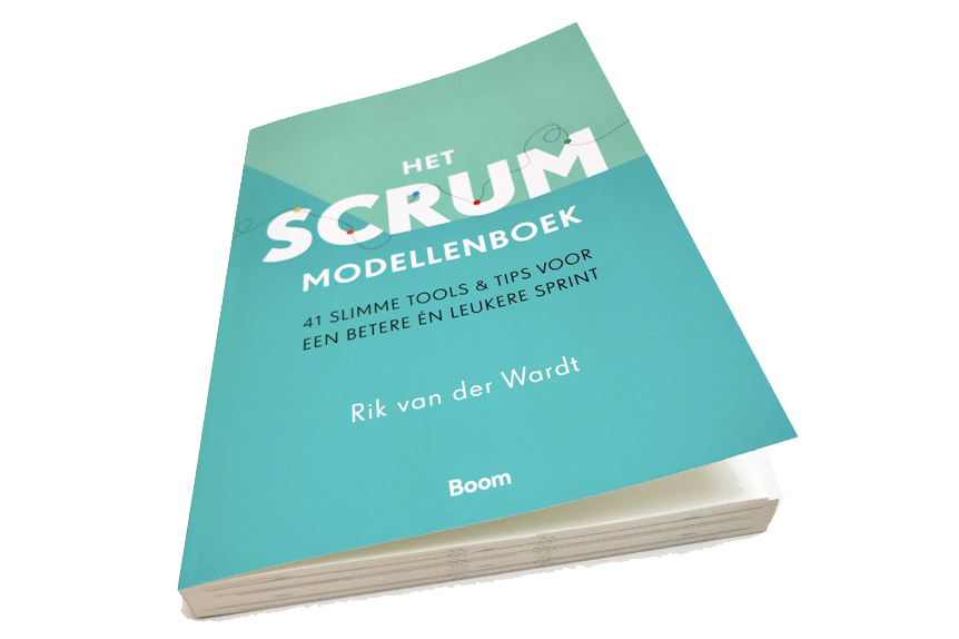 Scrum Master training boek bij opleiding