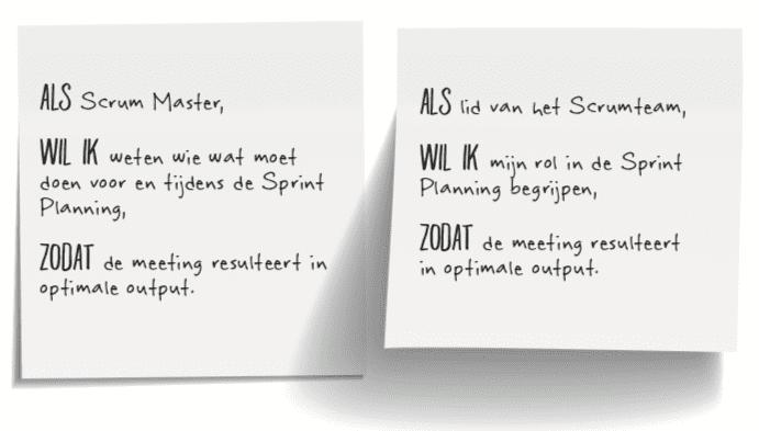 Sprint Planning model gebruik