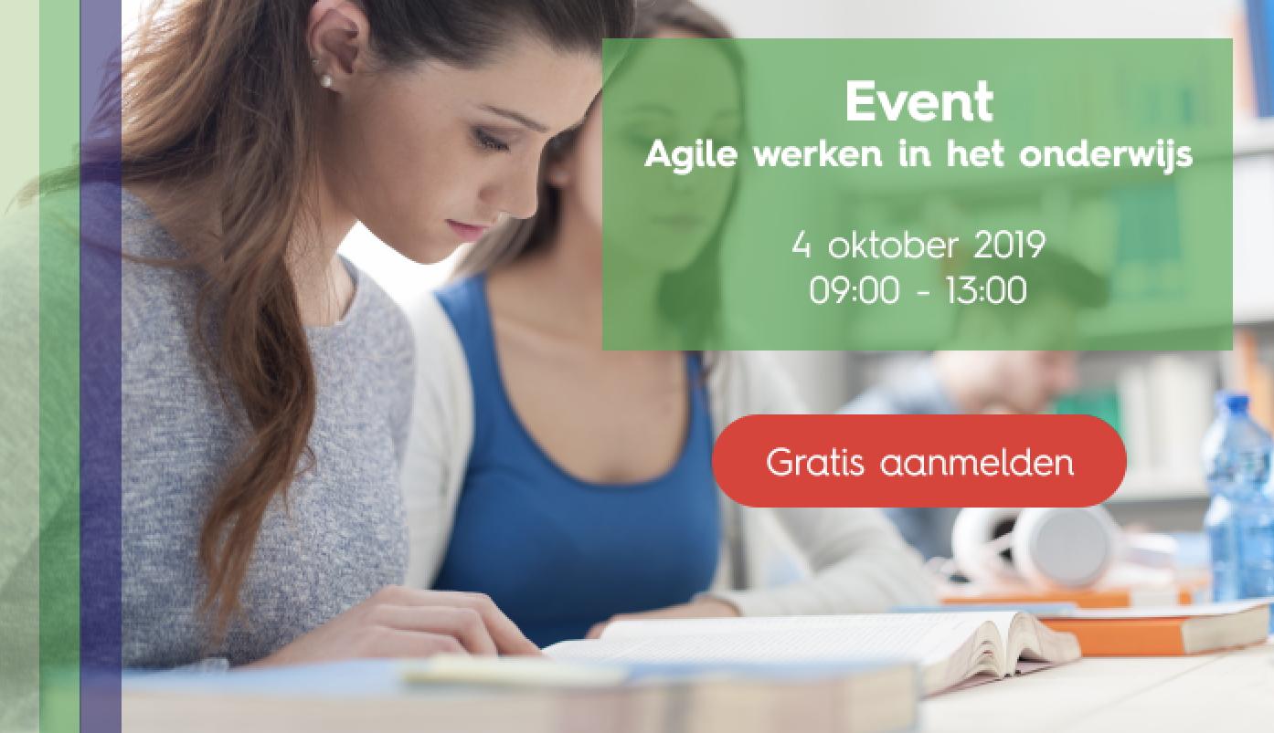 agile werken in onderwijs event