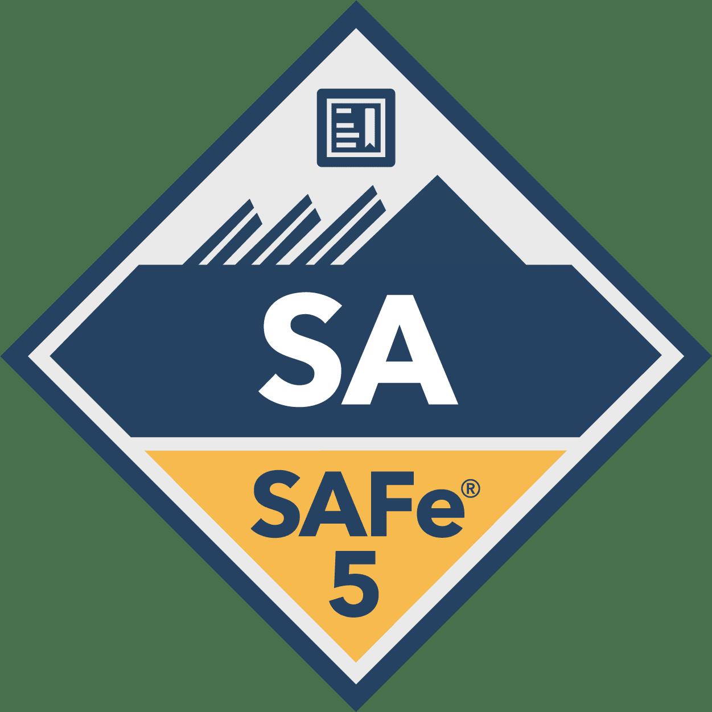 SAFe 5 badge