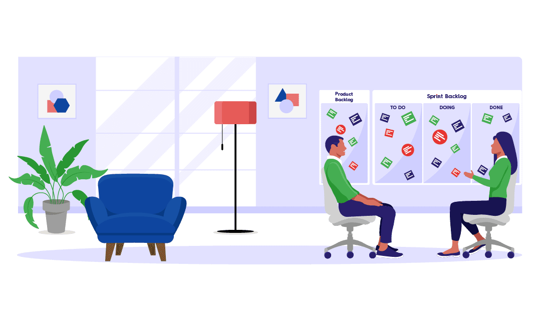 scrum ruimte werkplek agile