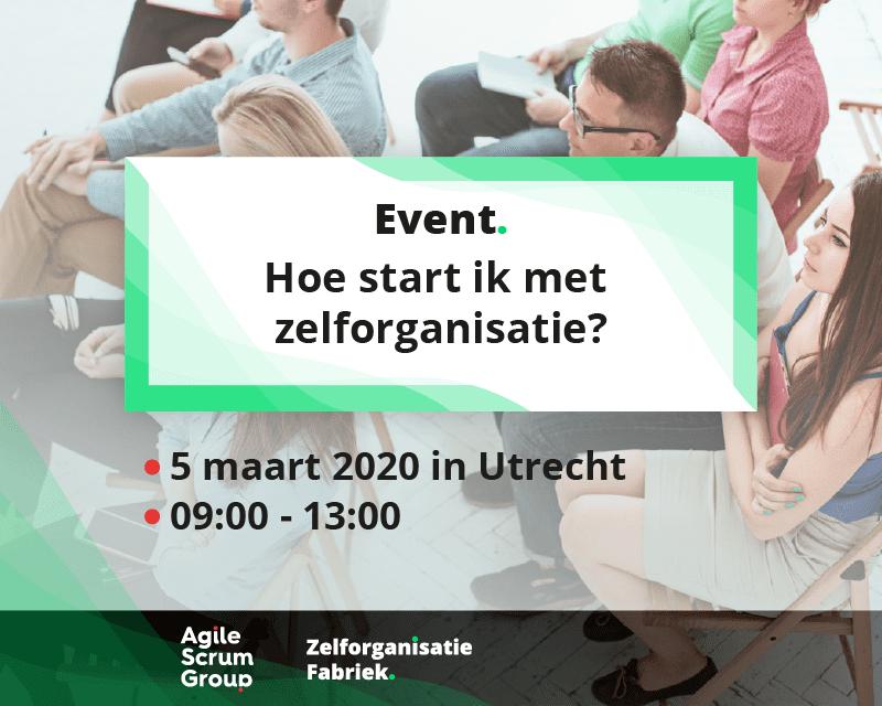 zelforganisatie-event